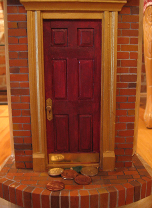 Urban Fairies, fairy doors, fairy door, Fairies, fairy doors of Ann Arbor, original fairy doors, fairy door Voila
