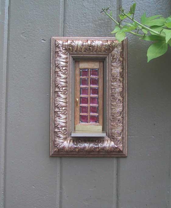 Urban fairies fairy doors locations ann arbor framing for The little fairy door company