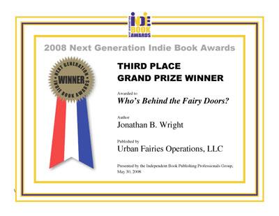 Urban Fairies In the News, AWARDS for fairy doors in Ann Arbor