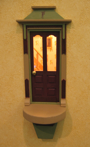 Urban fairies fairy doors locations dentist kay wilson dds for Fairy door adairs